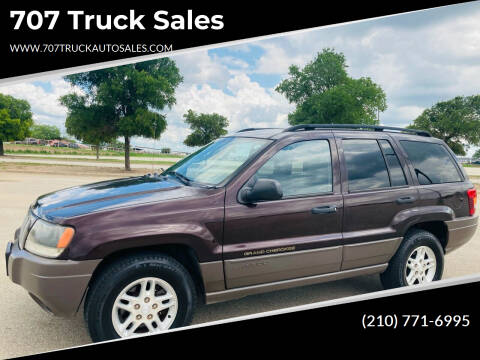 2004 Jeep Grand Cherokee for sale at 707 Truck Sales in San Antonio TX