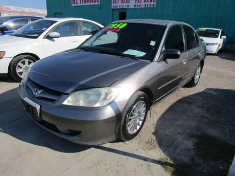 2005 Honda Civic for sale at Cars 4 Cash in Corpus Christi TX