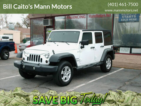 2012 Jeep Wrangler Unlimited for sale at Bill Caito's Mann Motors in Warwick RI