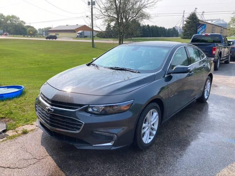 2016 Chevrolet Malibu for sale at Deals on Wheels Auto Sales in Scottville MI