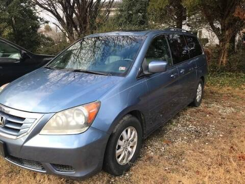 2008 Honda Odyssey for sale at Gaita Auto Sales in Poquoson VA