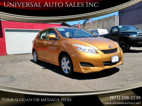 2009 Toyota Matrix for sale at Universal Auto Sales Inc in Salem OR