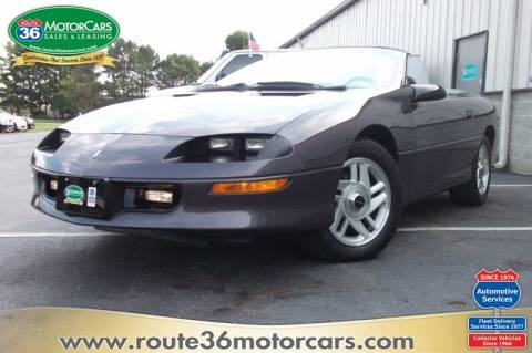 1994 Chevrolet Camaro for sale at ROUTE 36 MOTORCARS in Dublin OH