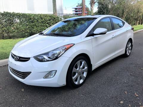 2013 Hyundai Elantra for sale at DENMARK AUTO BROKERS in Riviera Beach FL