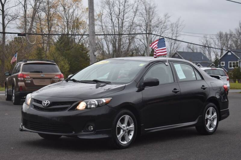 2012 Toyota Corolla for sale at GREENPORT AUTO in Hudson NY