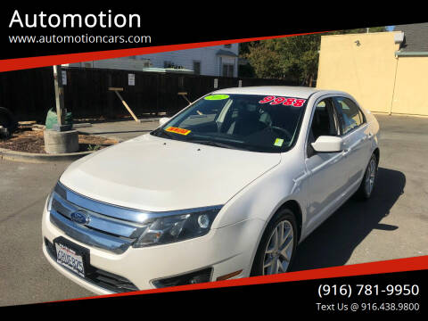 2012 Ford Fusion for sale at Automotion in Roseville CA