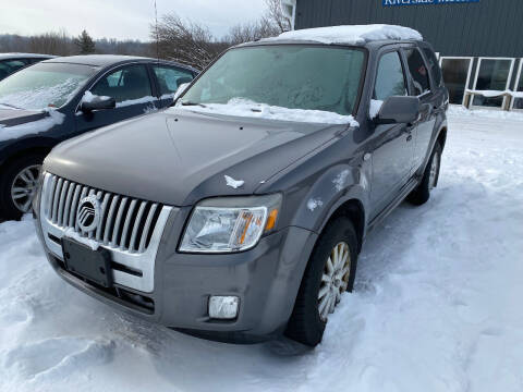2009 Mercury Mariner for sale at Riverside Motors in Glenfield NY
