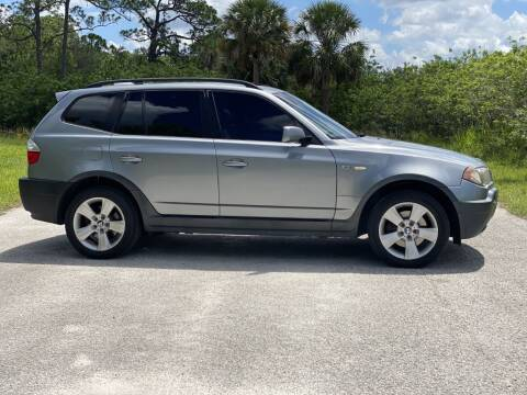 2004 BMW X3 for sale at D & D Used Cars in New Port Richey FL