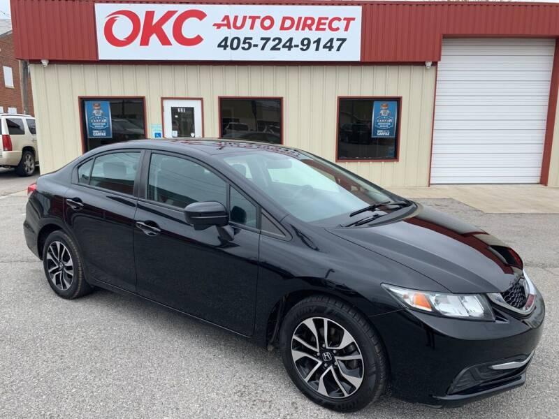 2014 Honda Civic for sale at OKC Auto Direct, LLC in Oklahoma City OK