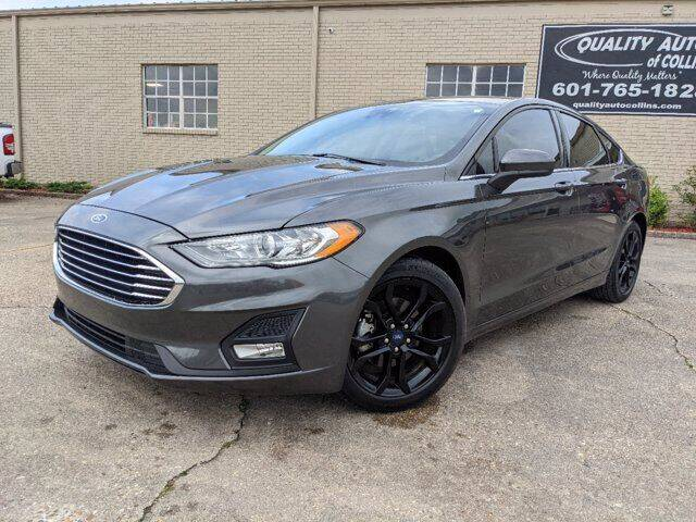 2020 Ford Fusion for sale at Quality Auto of Collins in Collins MS