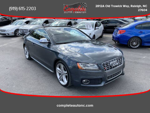 2009 Audi S5 for sale at Complete Auto Center , Inc in Raleigh NC