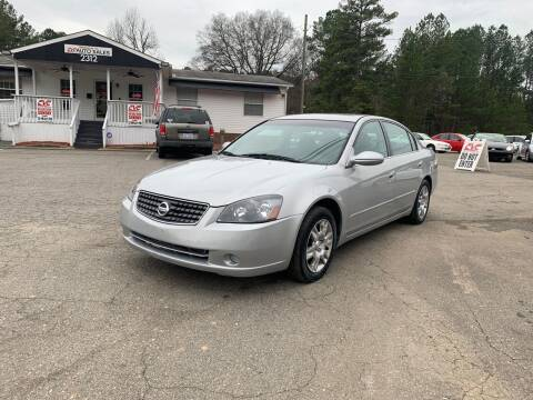2005 Nissan Altima for sale at CVC AUTO SALES in Durham NC
