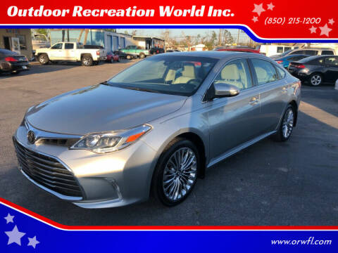2017 Toyota Avalon for sale at Outdoor Recreation World Inc. in Panama City FL