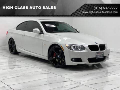 2013 BMW 3 Series for sale at HIGH CLASS AUTO SALES in Rancho Cordova CA