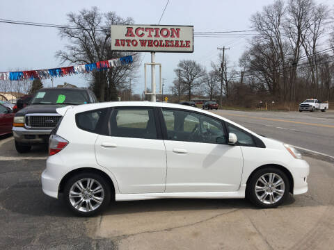 2009 Honda Fit for sale at Action Auto Wholesale in Painesville OH