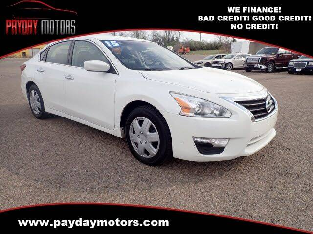 2015 Nissan Altima for sale at Payday Motors in Wichita And Topeka KS