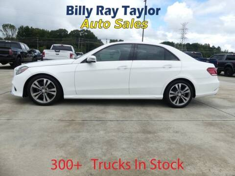 2016 Mercedes-Benz E-Class for sale at Billy Ray Taylor Auto Sales in Cullman AL