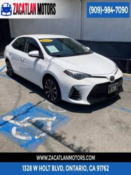 2017 Toyota Corolla for sale at Ontario Auto Square in Ontario CA