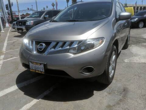 2009 Nissan Murano for sale at Best Deal Auto Sales in Stockton CA