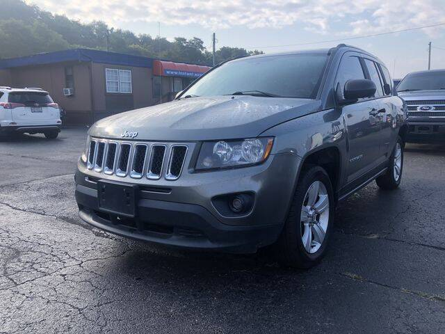 2014 Jeep Compass for sale at Instant Auto Sales in Chillicothe OH