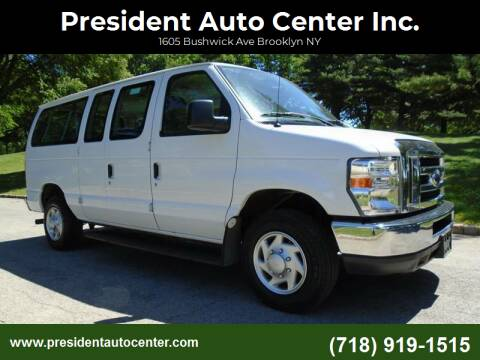 2014 Ford E-Series Wagon for sale at President Auto Center Inc. in Brooklyn NY