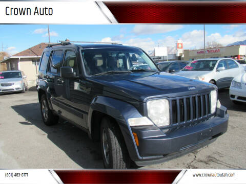 2008 Jeep Liberty for sale at Crown Auto in South Salt Lake City UT