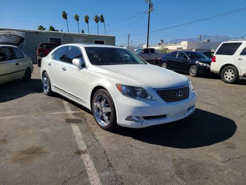 2008 Lexus LS 460 for sale at E and M Auto Sales in Bloomington CA