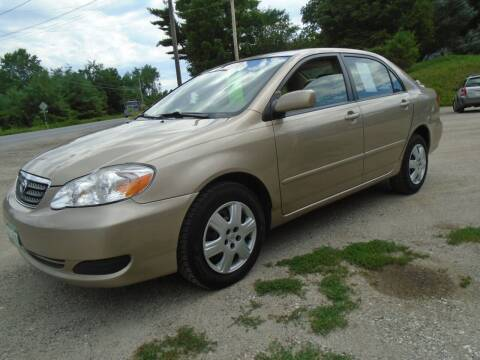 2006 Toyota Corolla for sale at Wimett Trading Company in Leicester VT