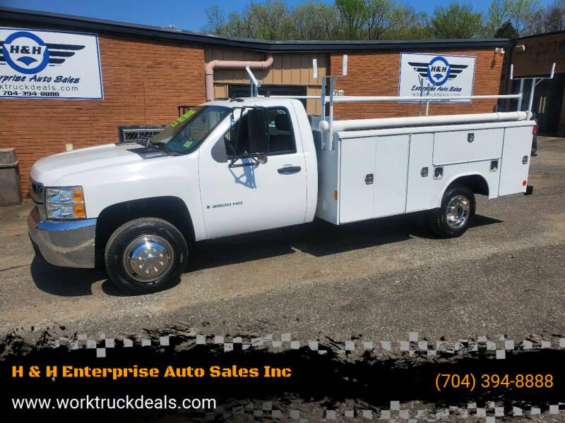 2008 Chevrolet Silverado 3500HD for sale at H & H Enterprise Auto Sales Inc in Charlotte NC