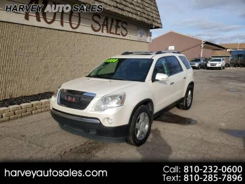 2010 GMC Acadia for sale at Harvey Auto Sales, LLC. in Flint MI