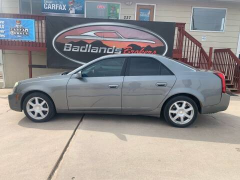 2004 Cadillac CTS for sale at Badlands Brokers in Rapid City SD