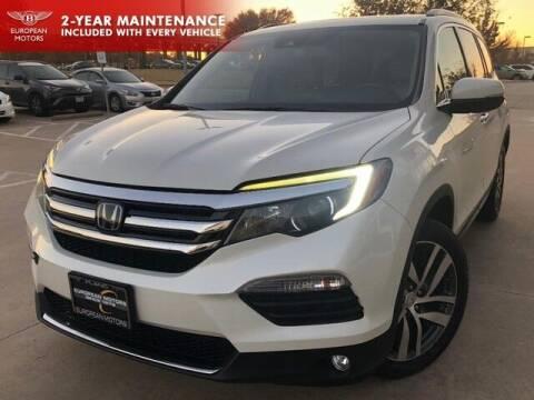 2016 Honda Pilot for sale at European Motors Inc in Plano TX