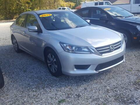 2015 Honda Accord for sale at Jack Cooney's Auto Sales in Erie PA