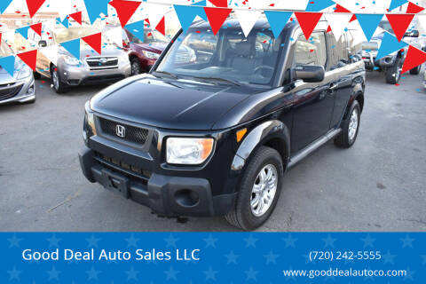 2006 Honda Element for sale at Good Deal Auto Sales LLC in Denver CO