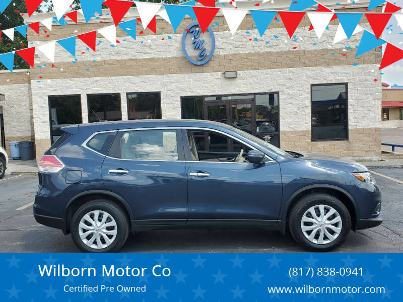 2015 Nissan Rogue for sale at Wilborn Motor Co in Fort Worth TX