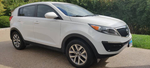 2016 Kia Sportage for sale at Auto Wholesalers in Saint Louis MO