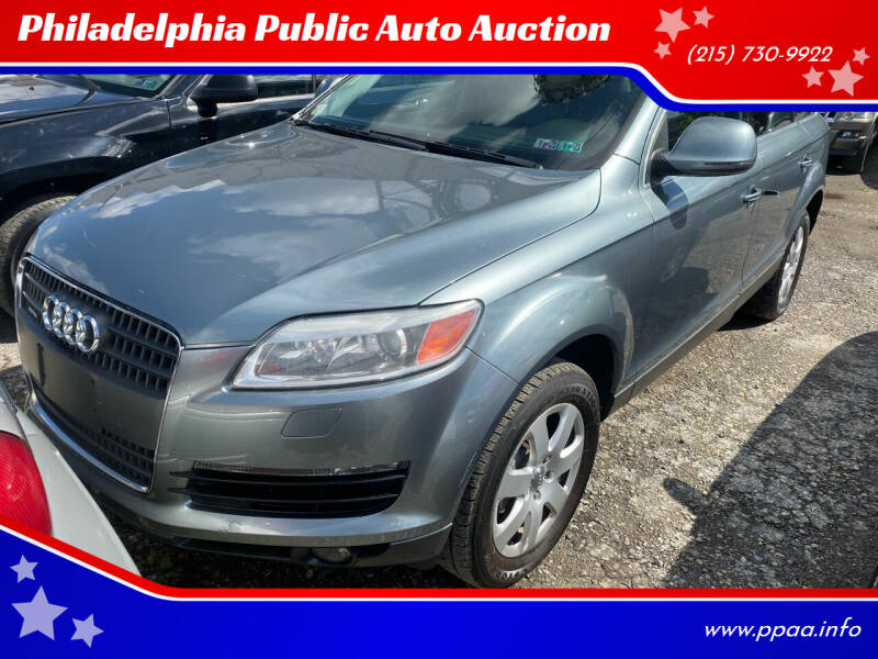 2007 Audi Q7 for sale at Philadelphia Public Auto Auction in Philadelphia PA
