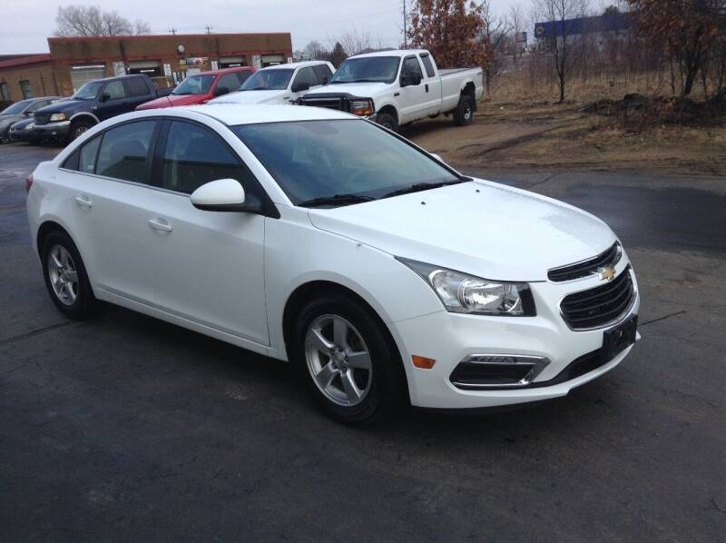 2015 Chevrolet Cruze for sale at Bruns & Sons Auto in Plover WI