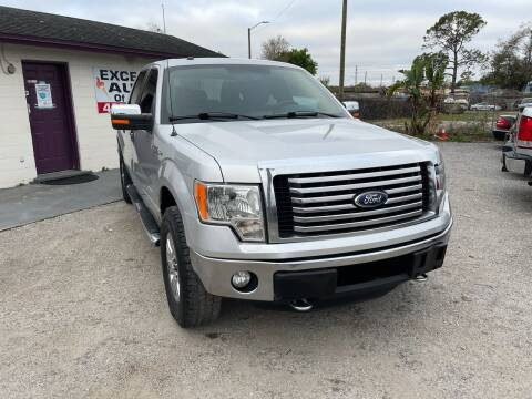 2012 Ford F-150 for sale at Excellent Autos of Orlando in Orlando FL