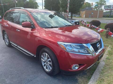 2014 Nissan Pathfinder for sale at Right Place Auto Sales in Indianapolis IN
