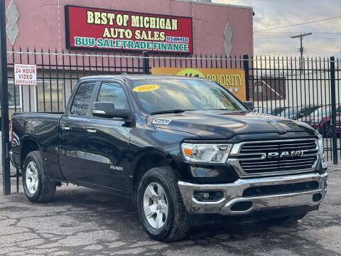 2020 RAM Ram Pickup 1500 for sale at Best of Michigan Auto Sales in Detroit MI