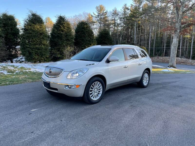 2011 Buick Enclave for sale at DON'S AUTO SALES & SERVICE in Belchertown MA