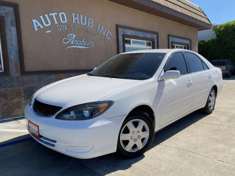 2002 Toyota Camry for sale at Auto Hub, Inc. in Anaheim CA