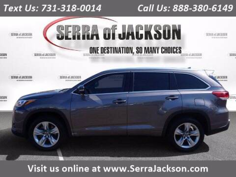 2017 Toyota Highlander for sale at Serra Of Jackson in Jackson TN