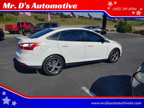 2013 Ford Focus for sale at Mr. D's Automotive in Piney Flats TN