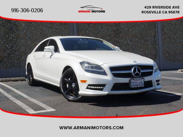 2013 Mercedes-Benz CLS for sale in Roseville, CA