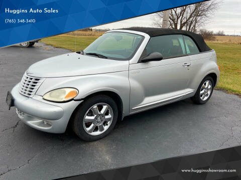 2005 Chrysler PT Cruiser for sale at Huggins Auto Sales in Hartford City IN