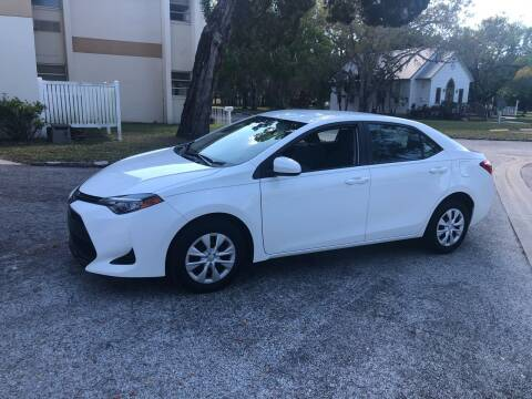 2017 Toyota Corolla for sale at Unique Sport and Imports in Sarasota FL