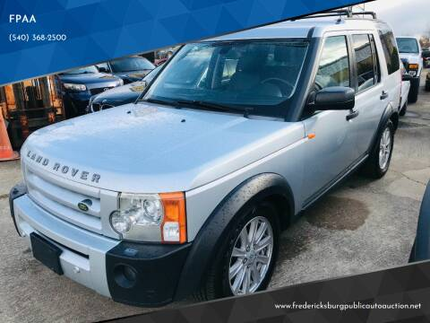 2008 Land Rover LR3 for sale at FPAA in Fredericksburg VA