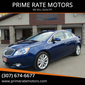 2014 Buick Verano for sale at PRIME RATE MOTORS in Sheridan WY